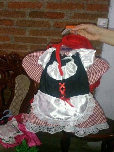 fotos de disfraz caperucita roja para nia de aos