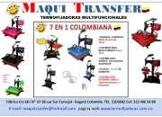 TERMOFIJADORA 6 EN 1 MAQUITRANSFER-COLOMBIANA