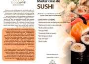 Curso MasterClass de Sushi