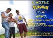 camiseta videojuego pokémon go - camiseta videojuego pokémon go