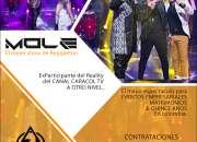MOLE A OTRO NIVEL - Show de reggaeton y Champeta urbana Bogota