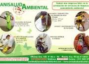 Fumigaciones / mantenimiento fachadas / lavado de tanques de agua potable