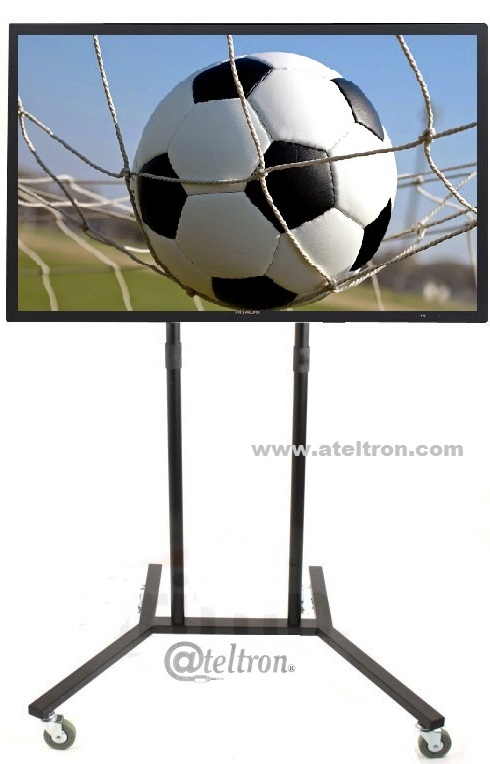 Base pedestal con ruedas tv led lcd