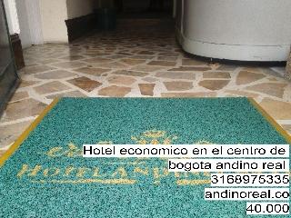 Hotel economico en el centro de bogota andino real en teusaquillo
