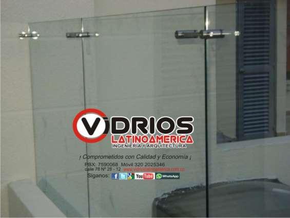 Suministro e instalación de vidrio templado