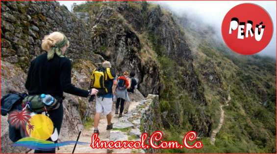 De turismo por el peru con linearcol