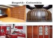 Fabricamos e instalamos  industrialmente carpintería estructural y arquitectónica en mader