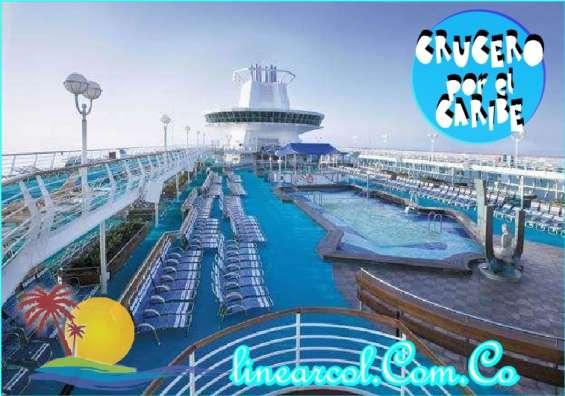Crucero por el caribe plan todo incluido