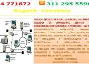 Cableado estructurado bogotá, servicio técnico de redes, 4771872
