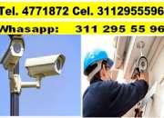 cámaras de seguridad Bogotá, servicio técnico cctv, 4771872 311 2955596