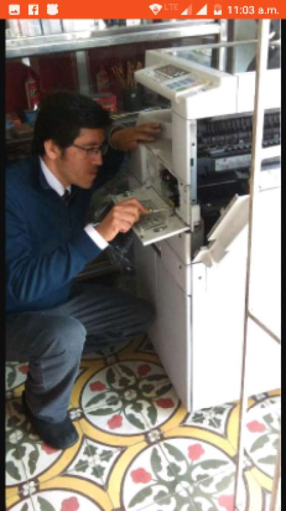 Servicio tecnico fotocopiadoras/ impresoras