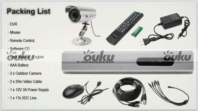 Fotos de Cámara ip 2 cámaras de seguridad más dvr mouse en