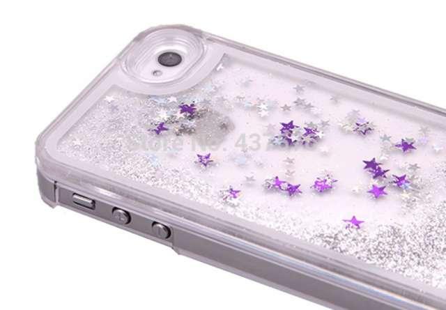 cc5a025cfac Prev Next. Estuche forro carcasa de estrellas en agua, para iphone 5/5s.  Ver estas fotos en detalle