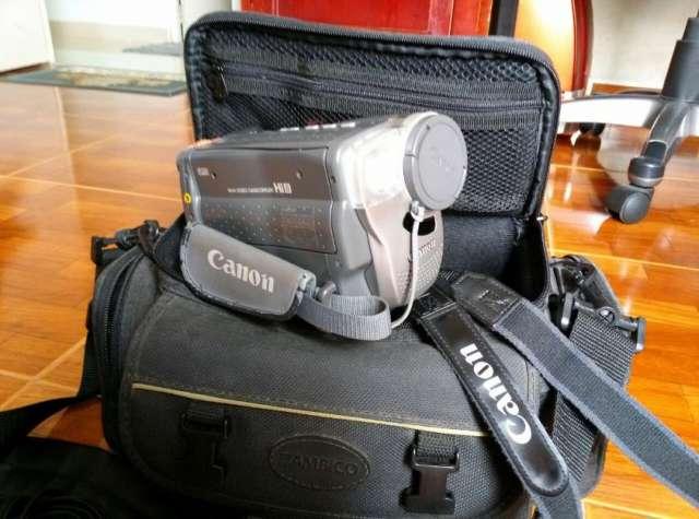 Filmadora canon modelo es65 como nueva
