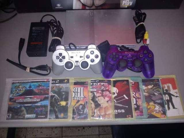Play station 2 usado con garantia