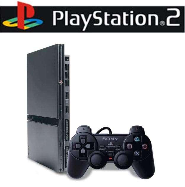 Vendo consola play station 2 slim como nueva