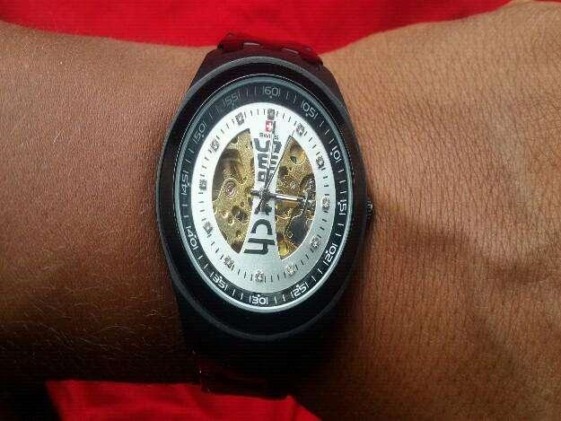 Ganga vendo o cambio reloj swatch automatico