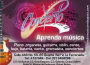 Academia de musica (tecnica vocal, piano guitarra, bateria, etc)