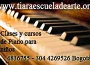 Clases de piano para niños sector j vargas metropolis