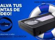 Conversion de video, vhs - beta - v8 a dvd