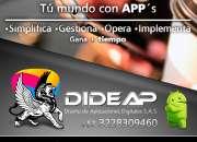 Desarrollamos aplicaciones móviles para tu empresa