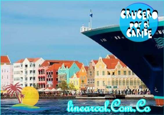 Conozca el caribe en un super crucero (facilidades de pago)