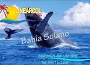 NUQUI BAHIA SOLANO TOUR COLOMBIA