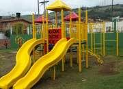 Parques infantiles, mobiliario urbano y equipos biosaludables