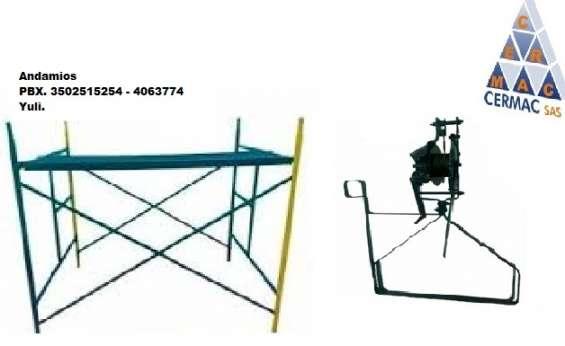 Somos fabricantes de equipos y maquinaria liviana