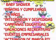 Piñatas, cumpleaños y Baby Shower