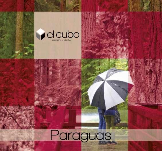 Paraguas promocionales publicitarios