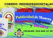 Publicidad digital e impresa con sublimado