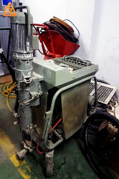Maquinas para proyectar (proyectadoras), lanzaras yeso, morteros (lanzadoras eléctricas)