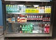 Nevera refrigerada tipo barra