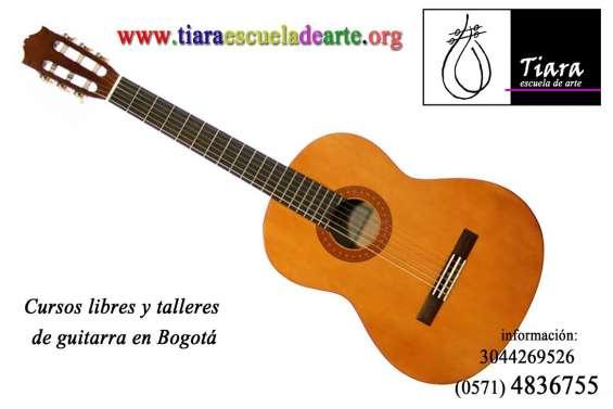 Clases de guitarra - niños sector j. vargas