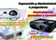 Reparacion y mantenimiento de proyectores