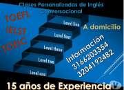 Clases personalizadas de Ingles - Curso TOEFL - IELTS Bogota