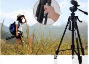 Tripode Profesional Weifeng 3560 -168cms + Estuche