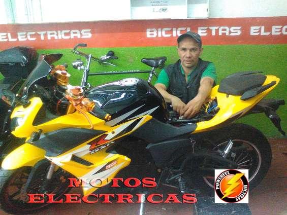 Mecanico de motos electricas de alto poder