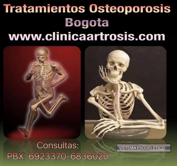 Tratamientos osteoporosis colombia