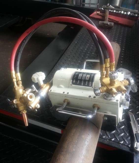 Nueva, cortadora de tubos de fijación magnética automática cg2-11c llama de oxicorte