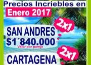 VIAJA EN ENERO 2017 SAN ANDRES DESDE PEREIRA