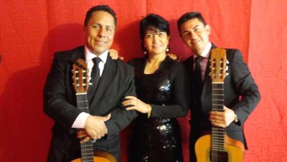 Serenata romantica, trio latino son 3, boleros, baladas, tangos y mas