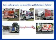 Alquiler de carro valla en Barranquilla
