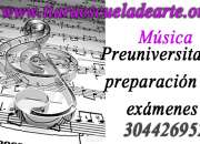 Preuniversitario musica