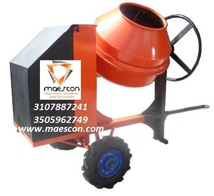 Mezcladora para concreto tipo trompo