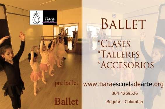 Accesorios para ballet. trusas, baletas, tutus.