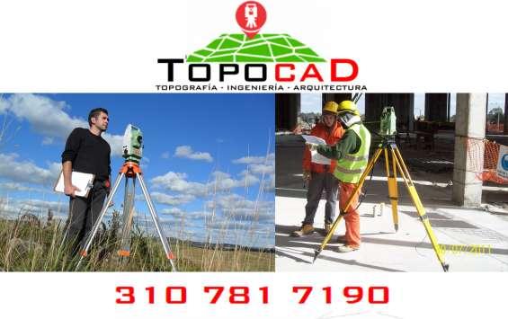 Ofrecemos servicios de topografía e ingeniería en urbanismo