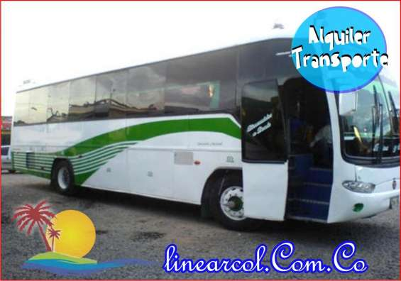 Buses busetas vans de turismo alquilo