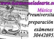 Preuniversitario Musica - Bogotá